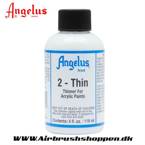 2 - Thin  malingsfortynder angelus 118 ml