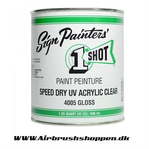 4005 Speed Dry UV Acrylic Clear : 946ml : Gloss  One shot