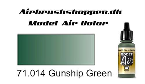71.014 Gunship Green RAL6020-FS34108