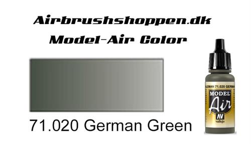 71.020 German Green RAL7009