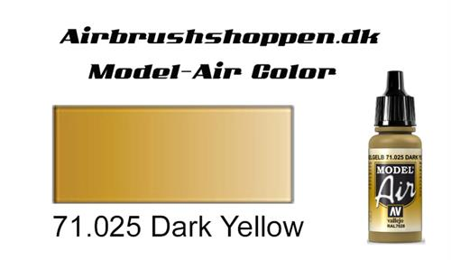 71.025 Dark Yellow RAL1027-FS33440