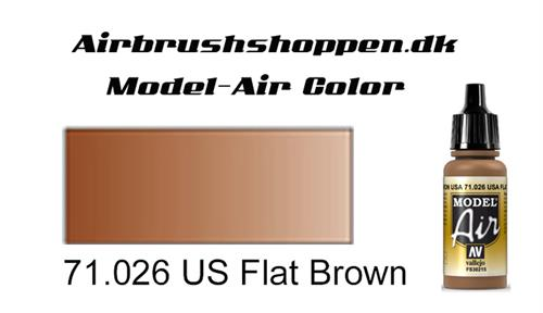 71.026 US Flat Brown FS30215