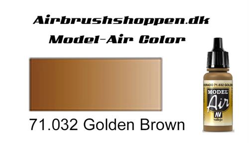 71.032 Golden Brown RAL8001