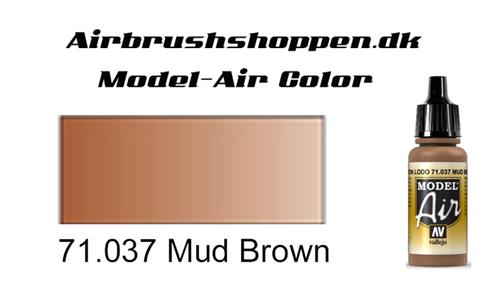 71.037 Mud Brown RAL8008