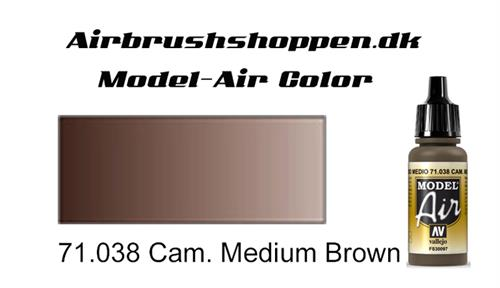 71.038/ Cam. Medium Brown FS30097