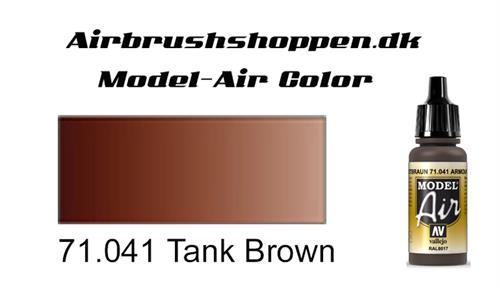 71.041 Tank Brown RAL8017-FS30111