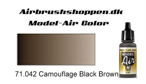 71.042 Camouflage Black Brown RAL8019-FS37056