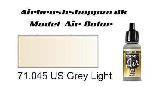 71.045 US Grey Light RAL7032-FS37769