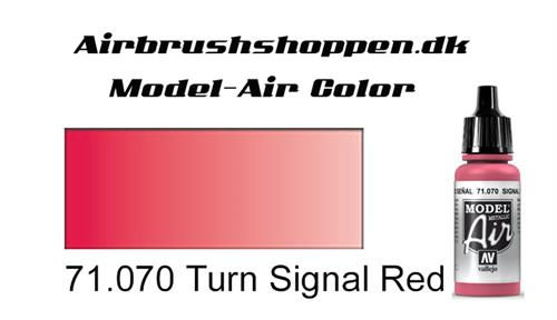 71.070 Turn Signal Red (Metallic)
