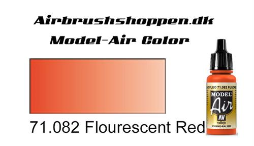 71.082 Flourescent Red RAL3024-FS28915