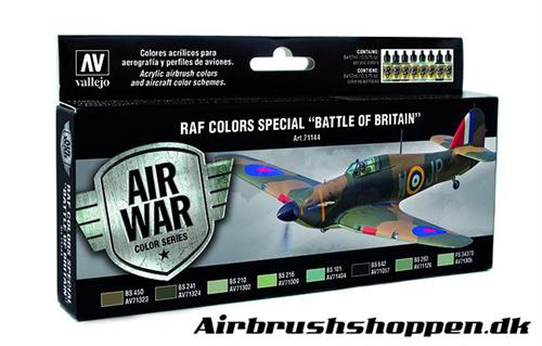 "71.144 RAF Colors Special ""Battle of Britain"" set 8x17ml"
