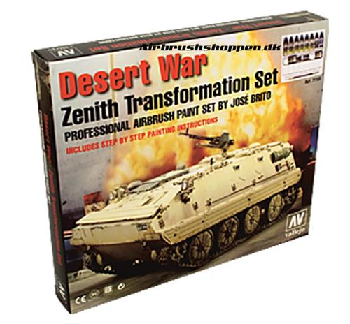 71.153 Desert War Set 6x17ml Zenith Transformation Set