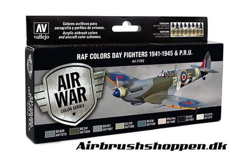 71.162 RAF Colors Day Fighters 1941-1945 & P.R.U.