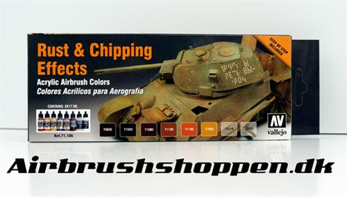 71.186 Rust & Chipping Effects set  8x17ml