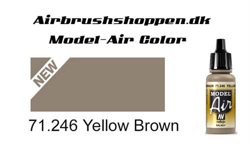 71.246 Yellow Brown