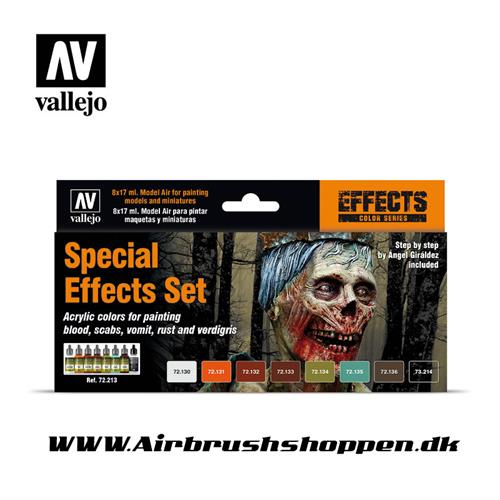 "72.213 Vallejo Special effects set 8 x 17 ml game colors set ""zombie"""