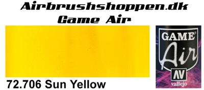 72.706 Sun Yellow Game Air Vallejo