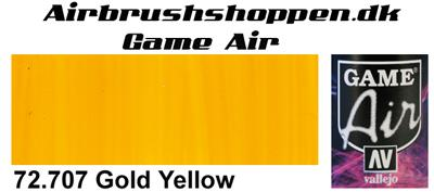 72.707 Gold Yellow Game Air Vallejo