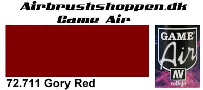 72.711 Gory Red Game Air Vallejo