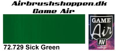 72.729 Sick Green Game Air Vallejo