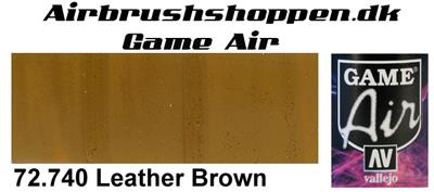 72.740 Leather Brown Game Air Vallejo