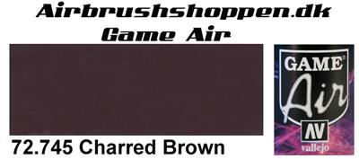 72.745 Charred Brown Game Air Vallejo