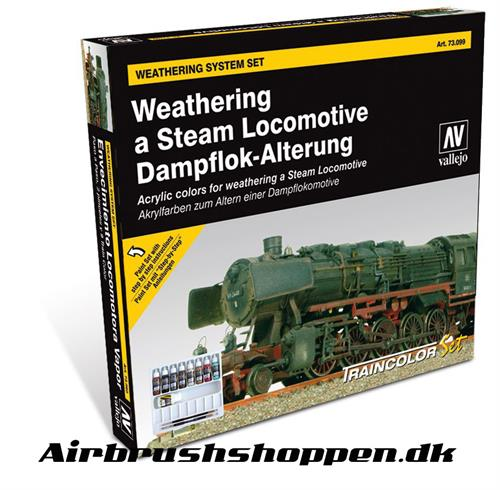 73.099 Weathering a Steam Locomotive model color 9x17ml
