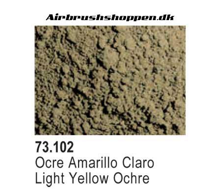 73.102 Light Yellow Orchre Pigment vallejo