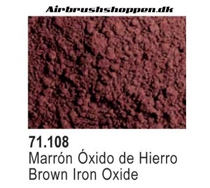 73.108 Brown Iron Oxide Pigment vallejo
