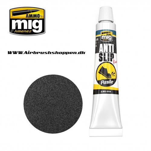 A.MIG 2034 ANTI SLIP PASTE   BLACK COLOR FOR 1/72 & 1/48