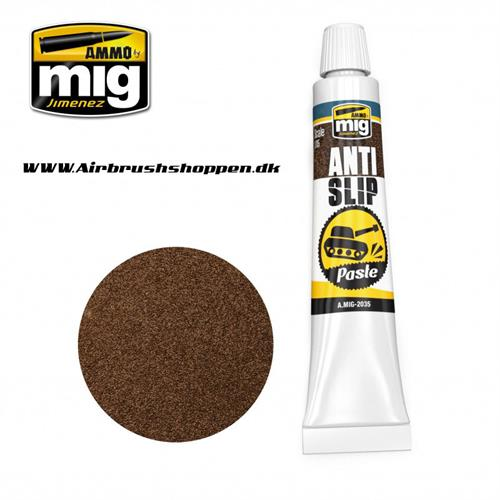 A.MIG 2035 ANTI SLIP PASTE   BROWN COLOR FOR 1/35