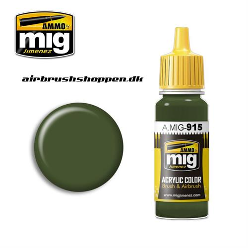 AMIG 915 DARK GREEN (BS 241)
