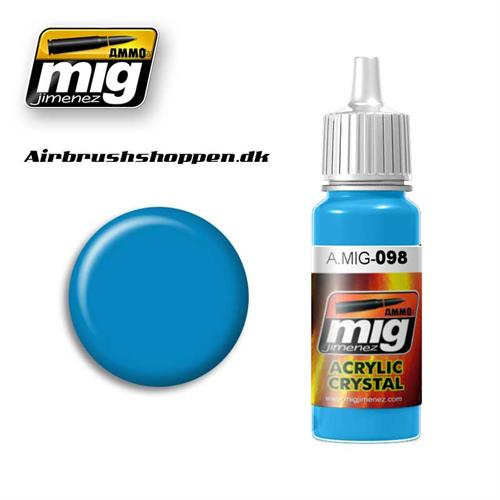 A.MIG 098 Crystal Light Blue