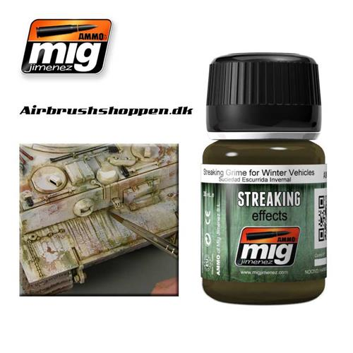 A.MIG-1205 Streaking Grime for Winter Vehicles 35 ml