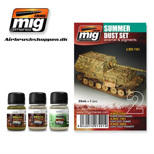 A.MIG 7401 Weathering set Summer Dust