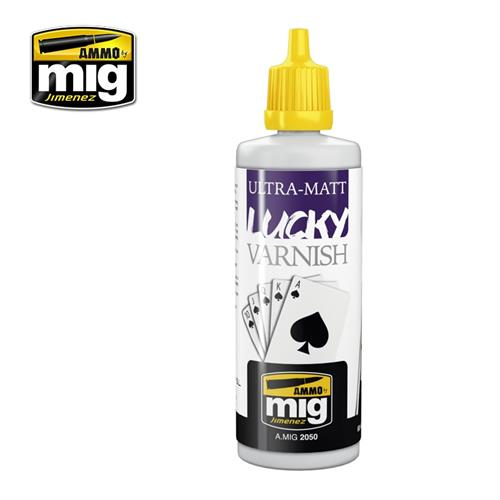 A.MIG 2050 ULTRA-MATT LUCKY VARNISH 60 ml