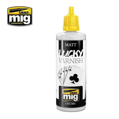 A.MIG 2051 MATT LUCKY VARNISH 60 ml