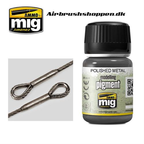 A.MIG 3021 POLISHED METAL Pigment 35 ml