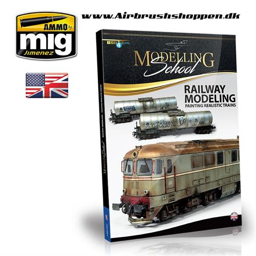 A.MIG6250 RAILWAY MODELING: PAINTING REALISTIC TRAINS