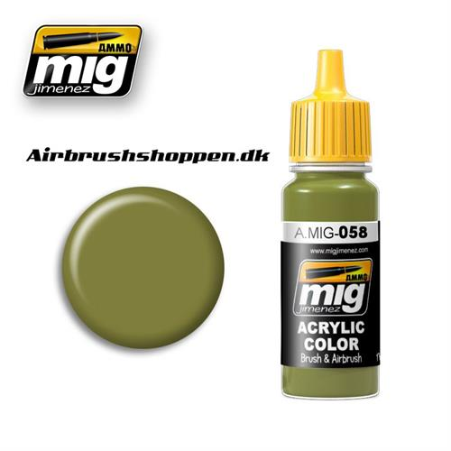 A.MIG-058 LIGHT GREEN KHAKI