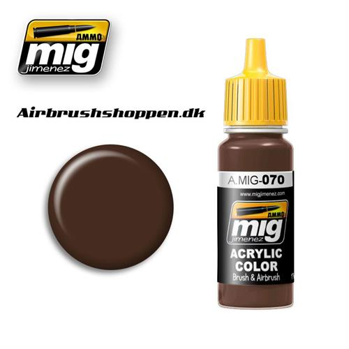 A.MIG-070 MEDIUM BROWN
