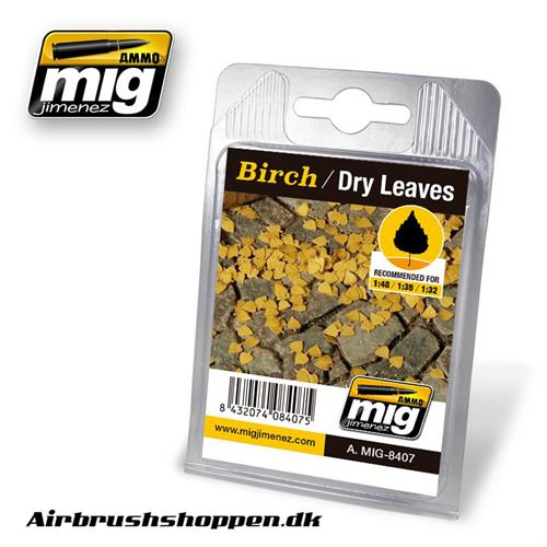 A.MIG-8407 BIRCH - DRY LEAVES