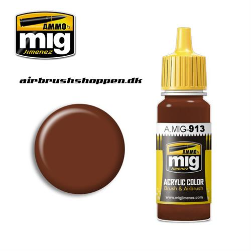 AMIG 913 RED BROWN BASE