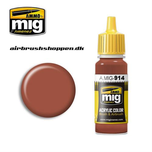 AMIG 914 RED BROWN LIGHT