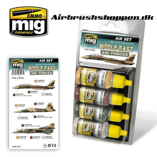 A.MIG 7217 MIDDLE EAST AIR FORCES  4x17 ml