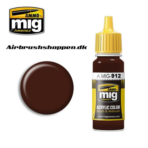 AMIG 912 RED BROWN SHADOW