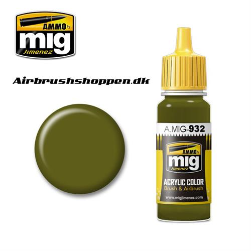 AMIG 932 RUSSIAN GREEN BASE
