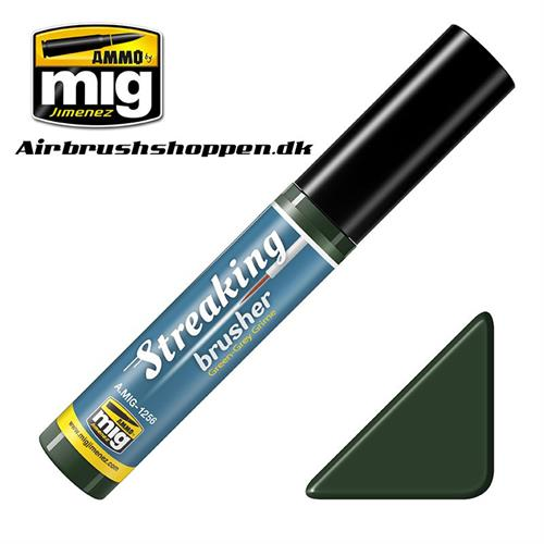 A.MIG 1256 STREAKINGBRUSHER GREEN-GREY GRIME