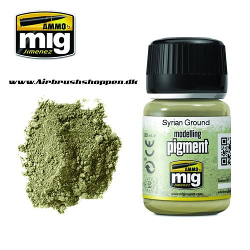 A.MIG 3025 SYRIAN GROUND Pigment 35 ml