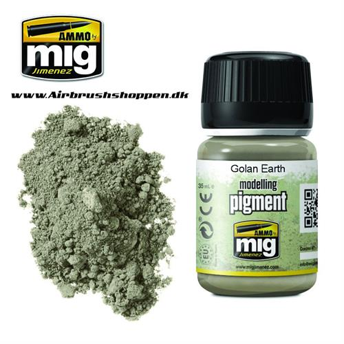 A.MIG 3026 GOLAN EARTH Pigment 35 ml